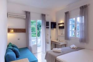 accommodation nefeli hotel elegant bedroom