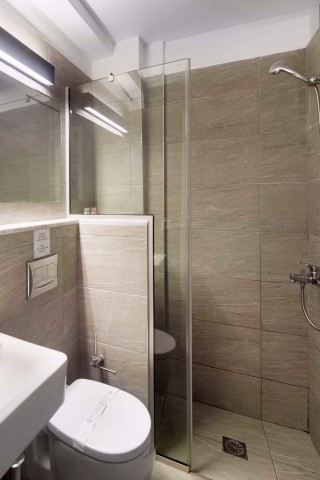 accommodation nefeli hotel shower